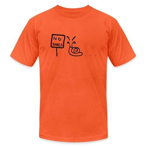 No Snels Original - Unisex Jersey T-Shirt by Bella + Canvas