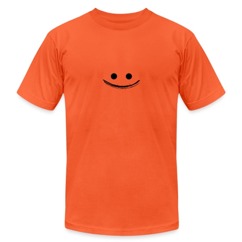 Smile - Unisex Jersey T-Shirt by Bella + Canvas