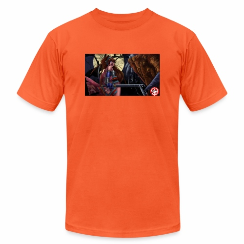 Anime Demon Hunter - Unisex Jersey T-Shirt by Bella + Canvas