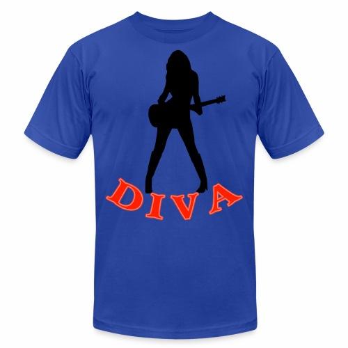 Rock Star Diva - Unisex Jersey T-Shirt by Bella + Canvas