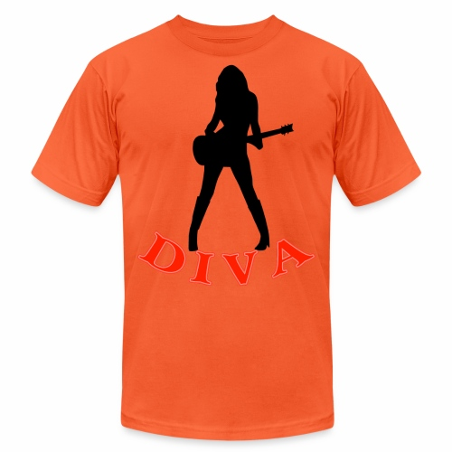 Rock Star Diva - Unisex Jersey T-Shirt by Bella + Canvas