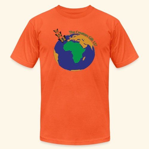 The CG137 logo - Unisex Jersey T-Shirt by Bella + Canvas