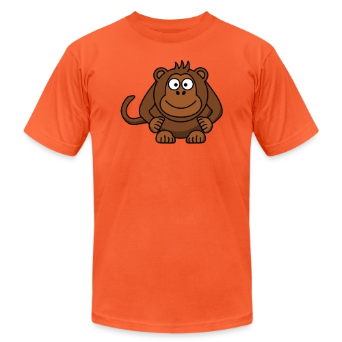 Funny Monkey - Unisex Jersey T-Shirt by Bella + Canvas