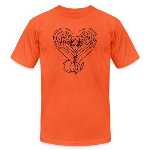 Sphinx valentine - Unisex Jersey T-Shirt by Bella + Canvas