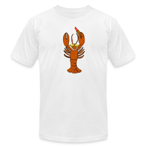 Glam Lobster - Unisex Jersey T-Shirt by Bella + Canvas