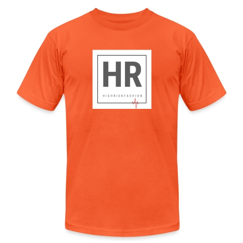 HR - HighRiskFashion Logo Shirt - Unisex Jersey T-Shirt by Bella + Canvas