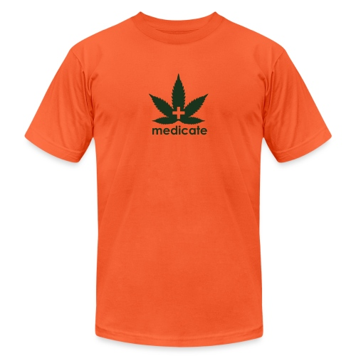 Medicate Supporter - Unisex Jersey T-Shirt by Bella + Canvas
