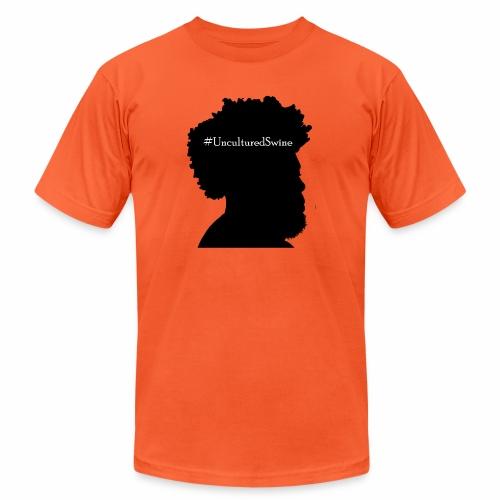 #UnculturedSwine - Unisex Jersey T-Shirt by Bella + Canvas