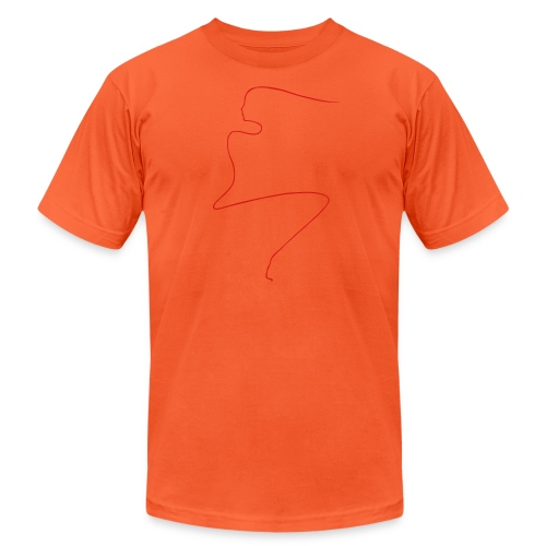 Linear Woman - Unisex Jersey T-Shirt by Bella + Canvas