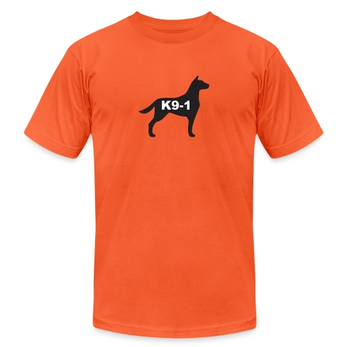 K9-1 logo - Unisex Jersey T-Shirt by Bella + Canvas