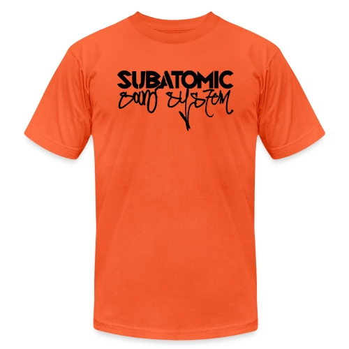 Subatomic Sound - all white - Unisex Jersey T-Shirt by Bella + Canvas