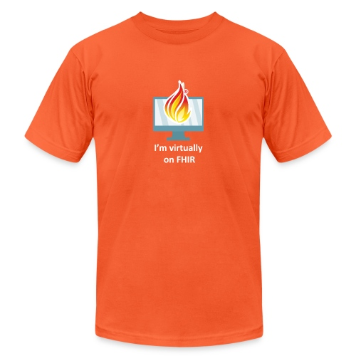 HL7 FHIR DevDays 2020 - Desktop - Unisex Jersey T-Shirt by Bella + Canvas
