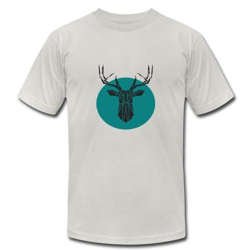 geometric design - Men's Fine Jersey T-Shirt