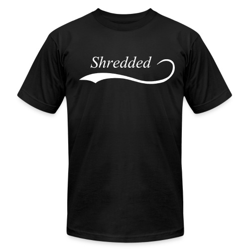 shredded 1 png - Unisex Jersey T-Shirt by Bella + Canvas