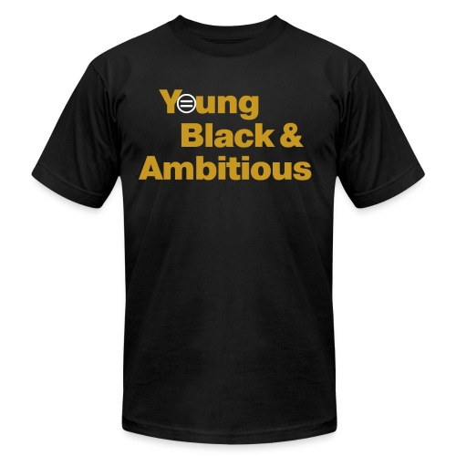 YBA Black and Gold Shirt2 - Unisex Jersey T-Shirt by Bella + Canvas