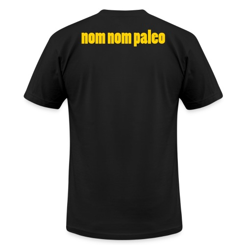 Nom Nom Paleo Vector - Unisex Jersey T-Shirt by Bella + Canvas