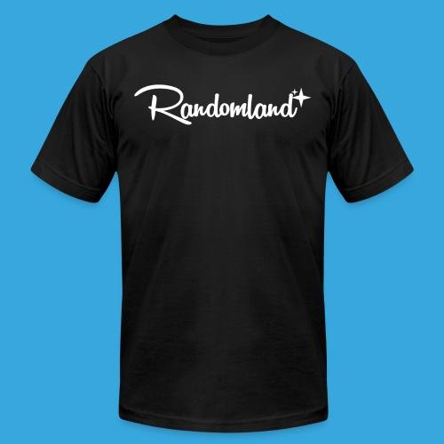 Randomland White Logo - Men's Jersey T-Shirt