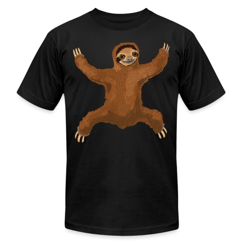 Sloth Love Hug - Unisex Jersey T-Shirt by Bella + Canvas