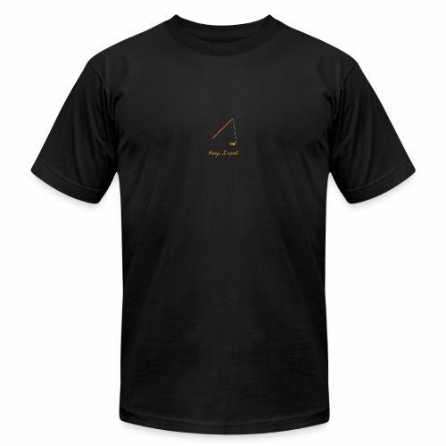 Keep it Reel (Orange) - Unisex Jersey T-Shirt by Bella + Canvas