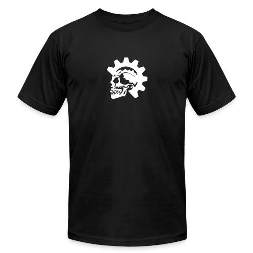 Gearhead Skull - Unisex Jersey T-Shirt by Bella + Canvas