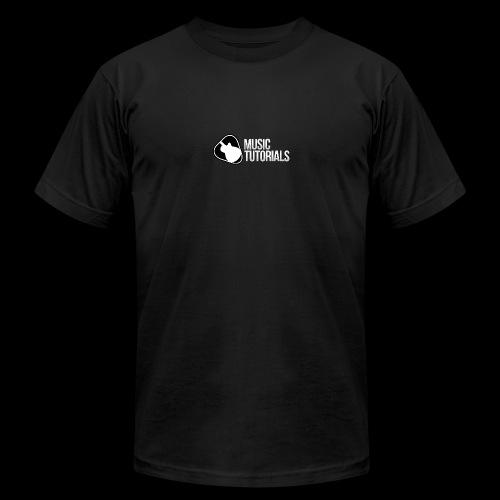 Music Tutorials Logo - Men's  Jersey T-Shirt