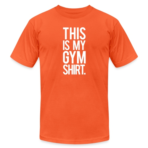 This is My Gym Shirt - Unisex Jersey T-Shirt by Bella + Canvas