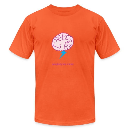 brain storm - Unisex Jersey T-Shirt by Bella + Canvas