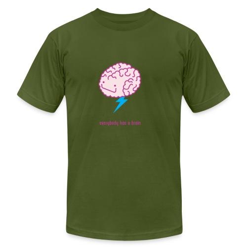 brain storm - Unisex Jersey T-Shirt by Bella + Canvas