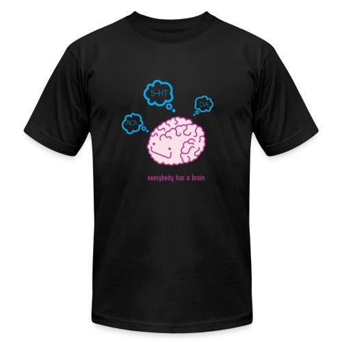 happy brain ingredients - Unisex Jersey T-Shirt by Bella + Canvas