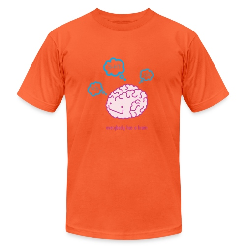 happy brain ingredients - Unisex Jersey T-Shirt by Bella + Canvas