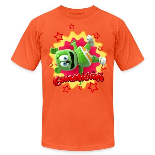 Gummibär Starburst - Unisex Jersey T-Shirt by Bella + Canvas