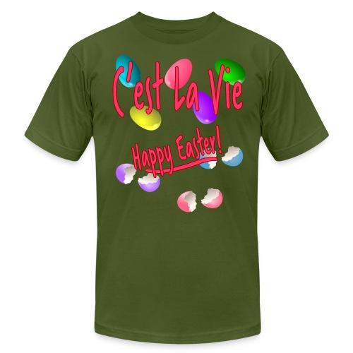 C'est La Vie, Easter Broken Eggs, Cest la vie - Unisex Jersey T-Shirt by Bella + Canvas