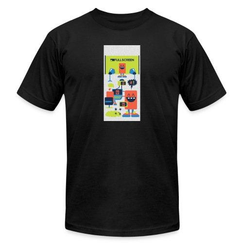 iphone5screenbots - Unisex Jersey T-Shirt by Bella + Canvas