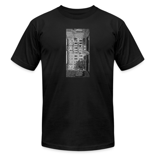 blackiphone5 - Unisex Jersey T-Shirt by Bella + Canvas