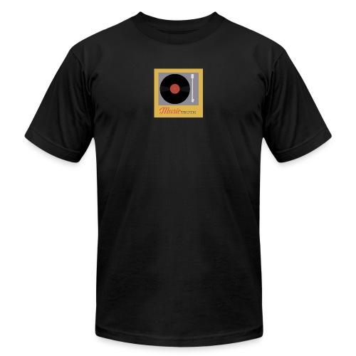 Music Truth Retro Record Label - Men's  Jersey T-Shirt