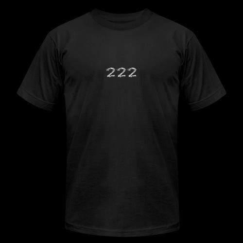 222 Chalk Style Pocket Logo - Men's  Jersey T-Shirt