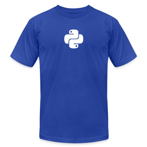 Python Logo - Men's  Jersey T-Shirt