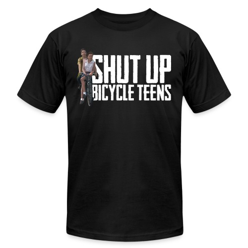 bicycle teens - Unisex Jersey T-Shirt by Bella + Canvas