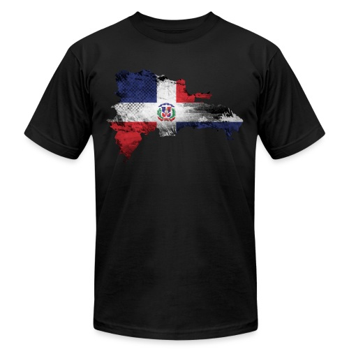 Dominican Republic design - Unisex Jersey T-Shirt by Bella + Canvas