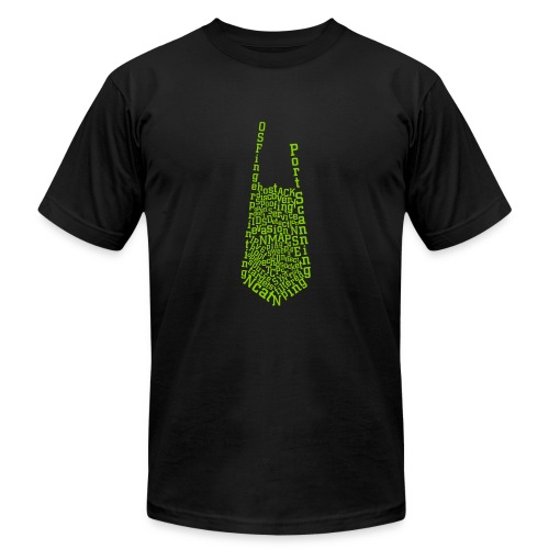 Nmap Tie - Unisex Jersey T-Shirt by Bella + Canvas