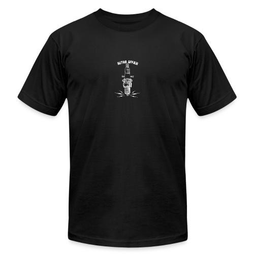 Retro Spark - White - Unisex Jersey T-Shirt by Bella + Canvas