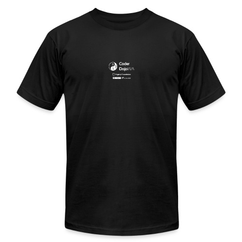 CoderDojoWA and Partners - Unisex Jersey T-Shirt by Bella + Canvas