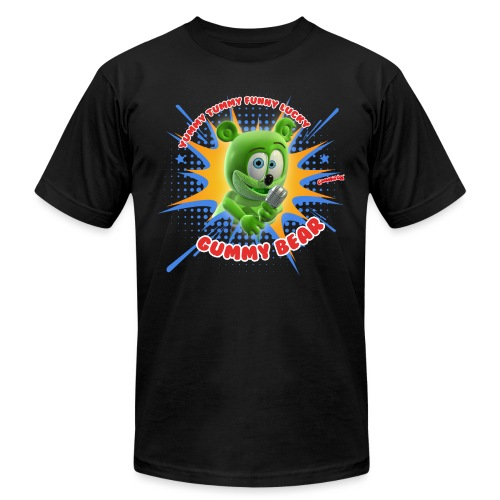 Funny Lucky Gummy Bear - Unisex Jersey T-Shirt by Bella + Canvas