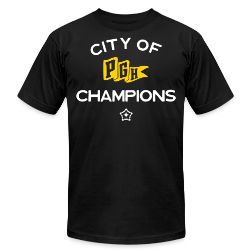 City of Champions - Unisex Jersey T-Shirt by Bella + Canvas