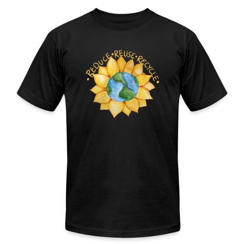 Reduce reuse recycle - Unisex Jersey T-Shirt by Bella + Canvas