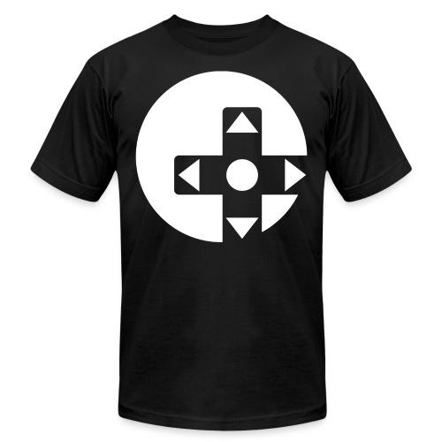 beta circle logo - Unisex Jersey T-Shirt by Bella + Canvas