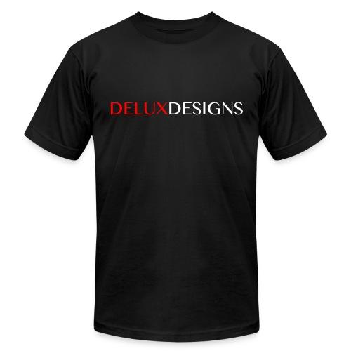Delux Designs (white) - Unisex Jersey T-Shirt by Bella + Canvas
