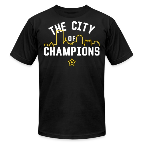 cityof - Unisex Jersey T-Shirt by Bella + Canvas