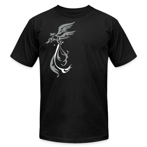 simorgh2colors - Unisex Jersey T-Shirt by Bella + Canvas
