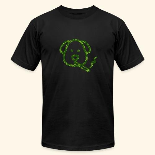 Smoking Dog - Unisex Jersey T-Shirt by Bella + Canvas